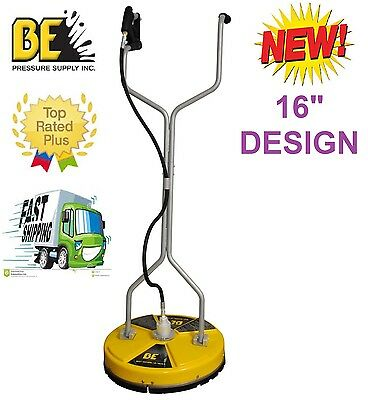 Be Pressure Whirl-A-Way 16'' Flat Surface Cleaner-Washer - Concrete Cleaner 16 ""