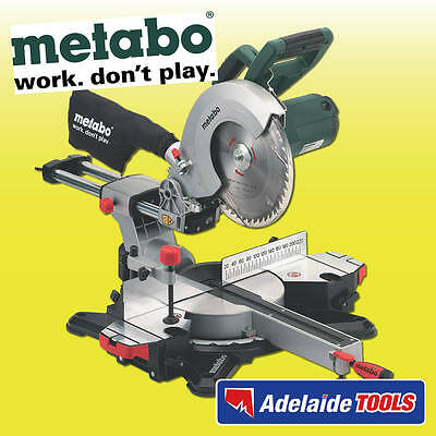 Metabo 1800 Watt 254mm Sliding Compound Mitre Saw - KGS 254M