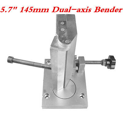 """Hotsale 5.7"""" 145mm Dual-axis Metal Channel Letter Angle Bending Machine, Bender"""