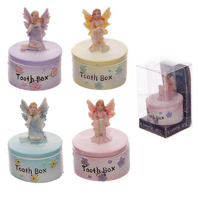 Tooth Fairy Trinket Pot Baby First Tooth Box Decorative Ornament