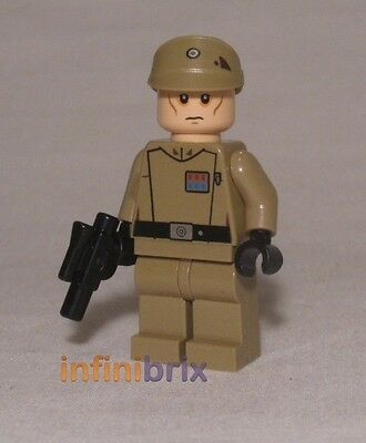 Lego Imperial Officer Minifigure from sets 75082 + 75106 Star Wars NEW sw623