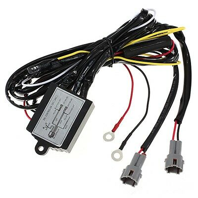 Daytime Running Light DRL Relay Harness Auto Car Control On/Off Switch 12V New