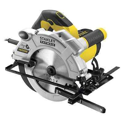 Stanley Fatmax 1600W CIRCULAR SAW FME300K-XE 2m RubberCable+Kit+24BladeRipFence
