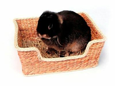 Natural Chill N Snooze Edible Chew Bed Rabbit Guinea Pig Chinchilla