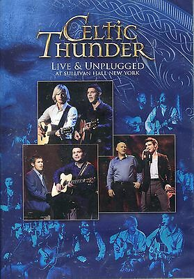 Celtic Thunder - Live & Unplugged DVD - FREE UK SHIPPING SHIPS FROM THE UK