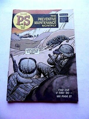 Army Book Magazine P.S The Preventive Maintenance Monthly Issue 664 Mar 2008