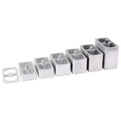 Speedway 3/4 Inch Aluminum Extruded Leaf Spring Lowering Block