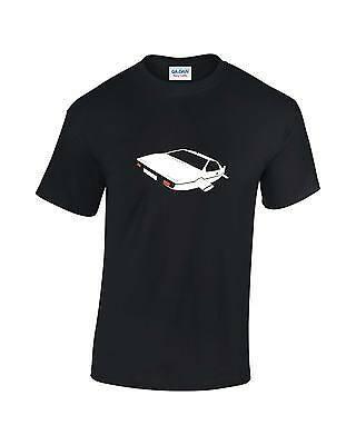 "Bond Car Movie Mens T-Shirt featured in James Bonds ""The Spy Who Loved Me"""