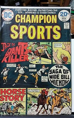Champion Sports #3 (1974) Bronze Age /DC Comics