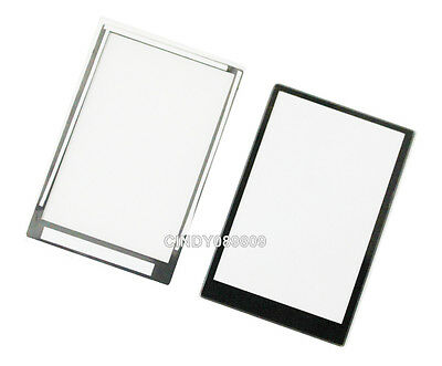Outer LCD Screen Display Window Glass For Panasonic Lumix DMC- LX3 Repair Part