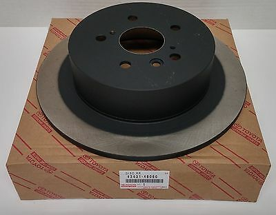 Toyota OEM Rear Brake Rotor For Highlander 42431-48060 Sold Individually