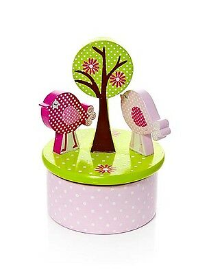 Music Box Bird Design for Kids Baby Girl Gift Present