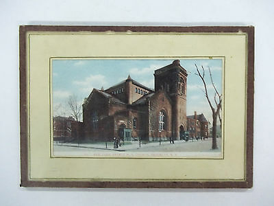 "Vintage Print 7-1/4"" X 5"" In Old Sealed Unit"