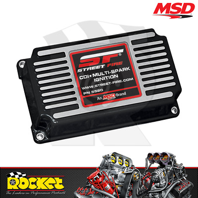 MSD Street Fire CD Ignition Control (w/ Adj Rev Limiter) - MSD5520