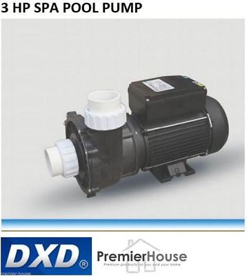 DXD 330A -3HP / 2.1kw Spa Pool Pump, 50,000 L/Hour, 2 Year Warranty, Leading OEM