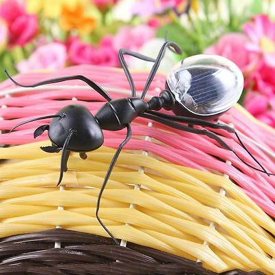 Magic Solar Powered Mini Animal Insect Educational Toy Solar Ant Toys For Kids