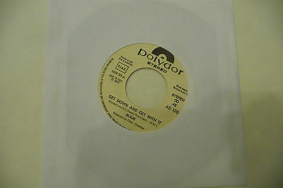"""SLADE""""GET DOWN AND GET WITH IT-disco 45 giri POLYDOR italy 1971"""" GLAMROCK-Ed JB"""