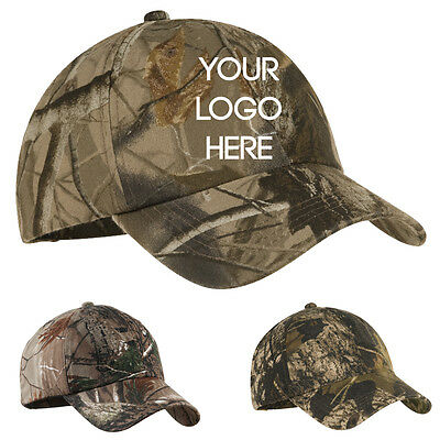 12 Custom Embroidered Personalized Snapback Camouflage Realtree/Mossy Oak Hats
