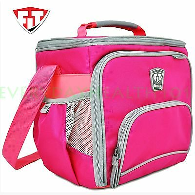 FITMARK THE BOX DIET & MEAL MANAGEMENT BAGS Fitness Meal Bag PINK