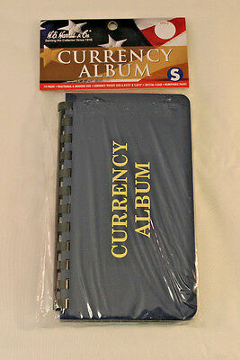 Currency Album - Modern U.s. Notes - 10 Pages - H.e. Harris Brand