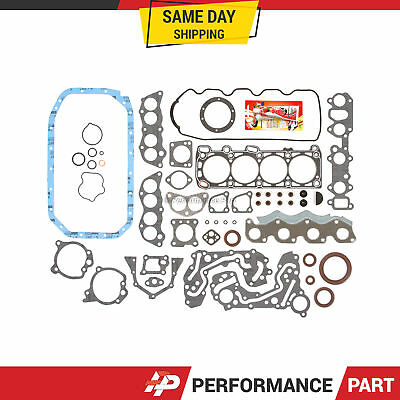 Full Gasket Set for 90-94 Mitsubishi Eclipse Dodge Plymouth Colt 1.8 VIN T, 4G37
