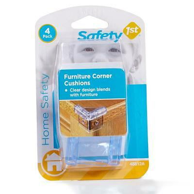 4pk Safety 1st Clear Table Furniture Corner Cushions Child Baby Safety Secure