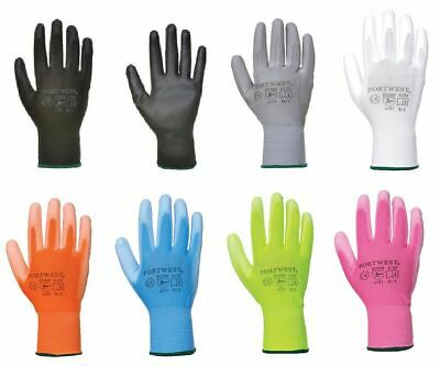 Gloves PU Palm Work Cut Resistant ANSI 105 (12 Pairs for $12) Portwest A120
