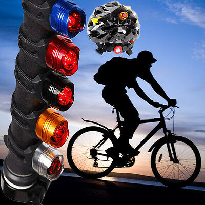 Aluminum Bicycle LED Taillights Waterproof Front Safety Red Lights Warning Lamps