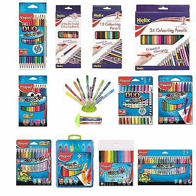 Maped Helix Colouring Pencils Markers Felt Tips Color'Peps School Stationery Tip