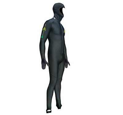 Adrenalin Fuzion Zip-Free Adult Springsuit Dive Wetsuit Short Sleeve and Leg NEW
