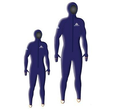 Adrenalin Lycra Suits JUNIOR Hooded Wetsuit  50+ UPF sun and stinger protection