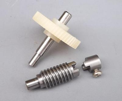 Worm reduction gear set for DIY