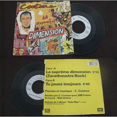 CHARLELIE COUTURE - La Supreme Dimension Rare French PS Pop Rock 1986