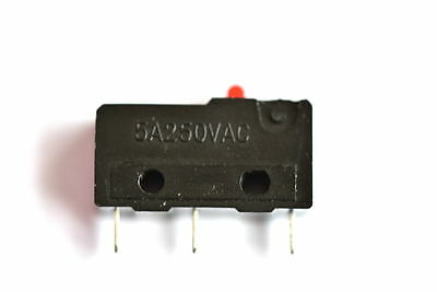 KW11-3Z Mini Micro switch 3pin No. & NC with comm 5A@250V