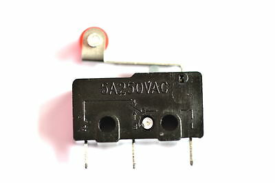 KW11-3Z Mini Micro switch 3pin No. & NC with comm 5A@250V 1.2mm with roller