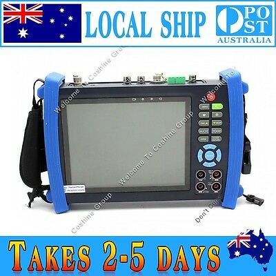 "AU Ship! IPC-8600MOVT 7"" Touch HD IP CAMERA DISPLAY TDR PTZ POE TESTER DC Output"