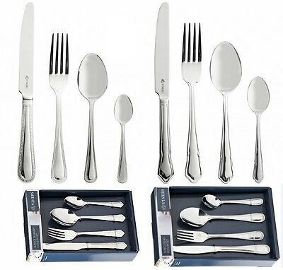 Viners Elite Concepts Cutlery Set 16pcs Dubarry/Bead Stainless Steel in Gift Box