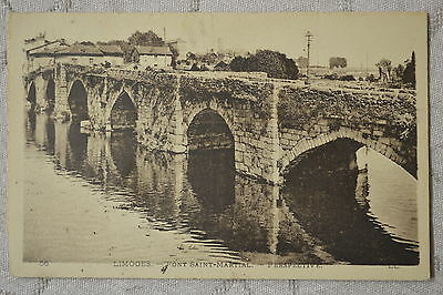 "CPA "" LIMOGES - Pont Saint Martial - Perspective"