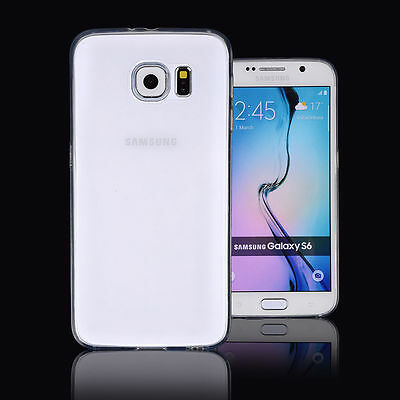 Samsung Galaxy S6 Case- Ultra Thin Crystal Clear Soft TPU Gel Cover