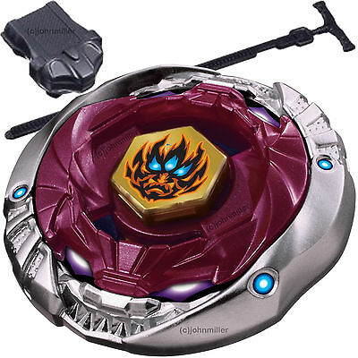 Phantom Orion B:D Metal Fury 4D Beyblade STARTER SET w/ Launcher & Ripcord