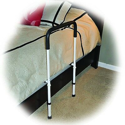 Bedrail Bed Assist Handle Rail Bed Side Helper Adjustable Height Drive Medical