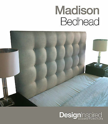 MADISON DELUXE Upholstered Bedhead / Headboard for Ensemble Bed
