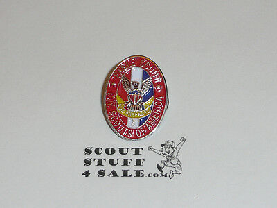 """Eagle Scout Enameled Lapel Pin, 1"""" Tall, From the 1980s - GREAT EAGLE SCOUT GIFT"""