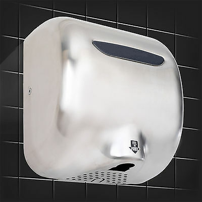1800 WATTS, High Speed, Stainless Steel, Automatic Hand Dryer 2016 model