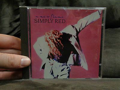 SIMPLY RED_A New Flame_used CD_ships from AUSTRALIA_A20