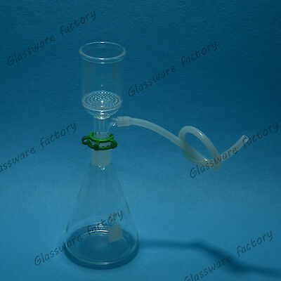 500mL,24/40,Suction Filtration Device,50mm Buchner Funnel and Glass Flask