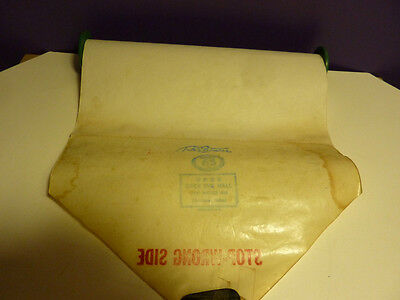 Vintage Piano roll Q.R.S. # 9839 DECK the HALLS Old Welsh Air Christmas Ballad