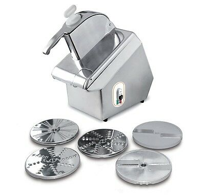 Commercial Vegetable Prep Machine / Food Processor  / Titanium Line With 5 Discs
