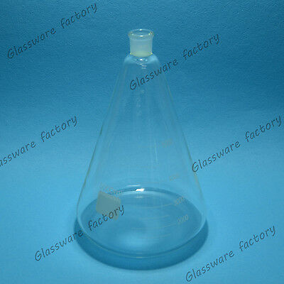5000ml,24/29,Glass Erlenmeyer Flask,5 Litre,Conical Vessel,Laboratory Glassware