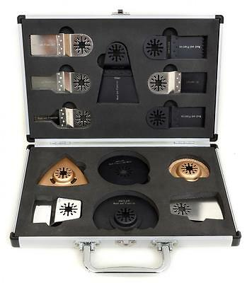 13pc Antler Blades Case Set Fein Multimaster Bosch Makita Oscillating Multitool
